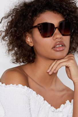 Nasty Gal Stand Up Leopard Shades