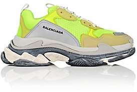 Balenciaga Men's Triple S Sneakers - Md. Green