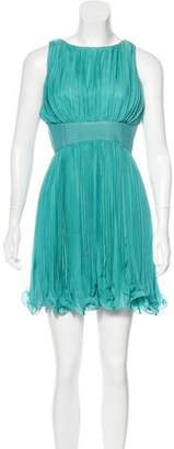 Tracy Reese Silk Pleated Dress