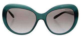 Tiffany & Co. Tinted Circle Sunglasses