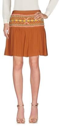 Blank Knee length skirt