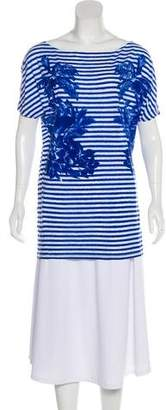 Stella McCartney Striped Bateau Top