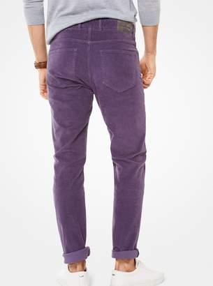 Michael Kors Parker Slim-Fit Corduroy Pants