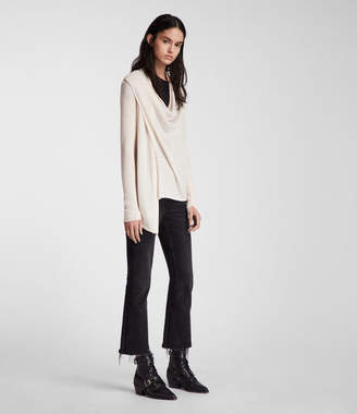 AllSaints Drina Ribbed Cardigan
