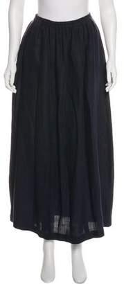eskandar Oversize Midi Skirt