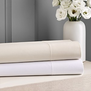 Hudson Park Collection Hudson Park 600TC Sateen Solid Fitted Sheet, Full - 100% Exclusive