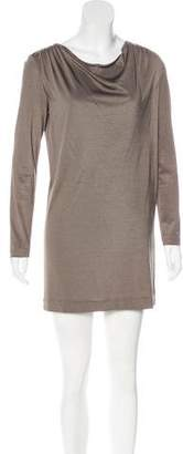 3.1 Phillip Lim Cowl Neck Long Sleeve Dress
