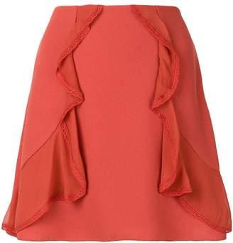See by Chloe ruffle-trim skirt