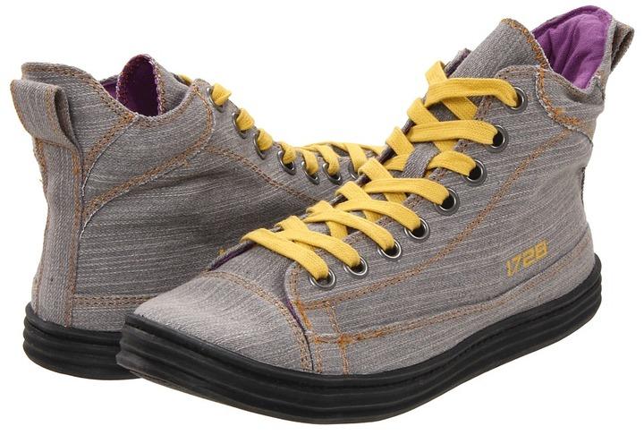 Blowfish Rocker (Steel Grey Street Denim) - Footwear