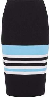 Nicholas Color-Block Ponte Pencil Skirt
