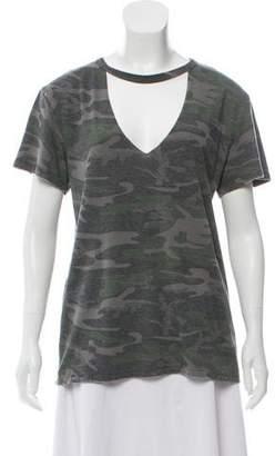 Pam & Gela Short-Sleeve Knit T-Shirt