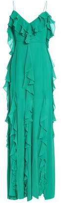 Nicholas Ruffled Silk-georgette Maxi Dress