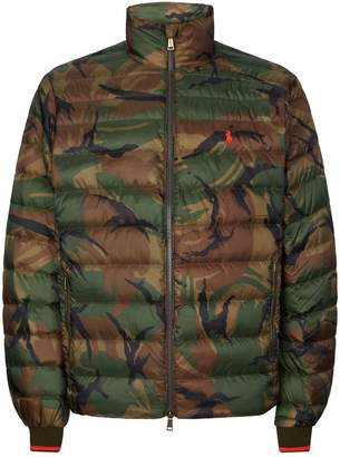 Polo Ralph Lauren Quilted Camouflage Jacket