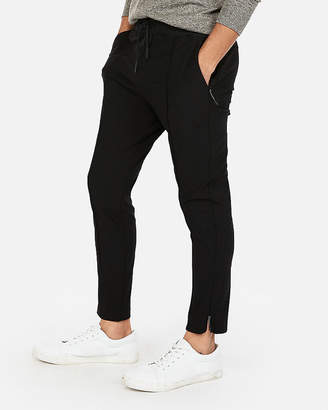 Express Solid Seamed Jogger Pant
