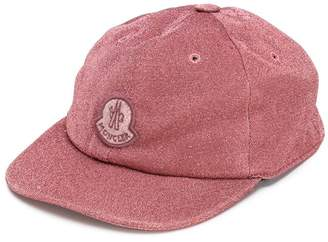Moncler glittered baseball cap