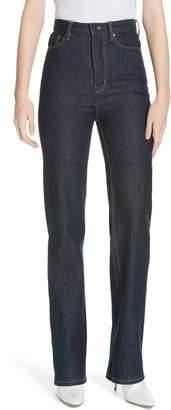 Rebecca Taylor Mireille High Waist Bootcut Jeans
