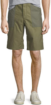 Rag & Bone Men's Two-Tone Field Shorts