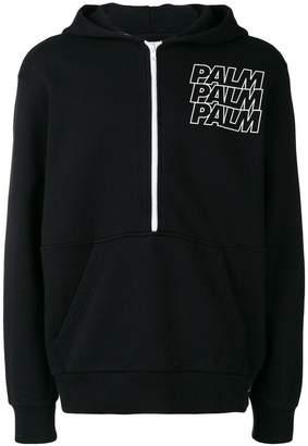 Palm Angels chest logo jumper