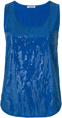 P.A.R.O.S.H. sequinned tank top