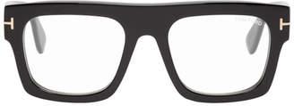 Tom Ford Black Blue Block Fausto Glasses