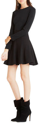 Bcbgeneration Long Sleeve Fit-and-Flare Dress $98 thestylecure.com