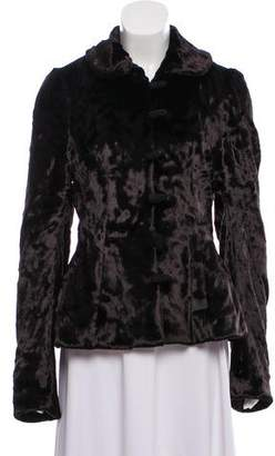 Ralph Lauren Velvet Peter Pan Collar Jacket