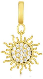 Roberto Coin 18k Gold & Diamond Sun Charm