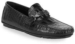 Roberto Cavalli Leather Driving Loafers