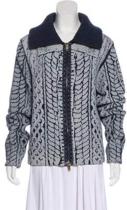 Maison Margiela Wool Zip-Up Jacket