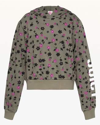 Juicy Couture JXJC Juicy Floral Print Hooded Pullover