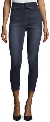 Tinseltown Womens Mid Rise Skinny Fit Jean - Juniors