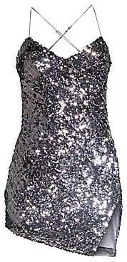 For Love & Lemons For Love& Lemons Women's Showtime Sequin Mini Dress
