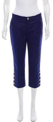 Ralph Lauren Cropped Mid-Rise Pants