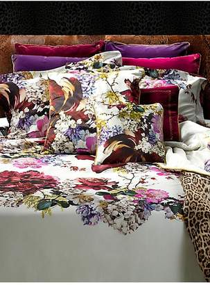 Roberto Cavalli Floris Printed Cotton Sateen Duvet Cover