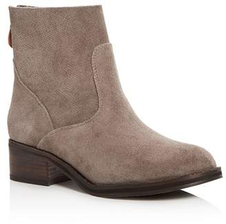 Kenneth Cole Gentle Souls by Gentle Souls Women's Parker Suede Low Heel Booties