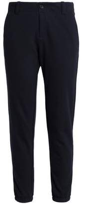 James Perse Cotton And Wool-Blend Terry Track Pants