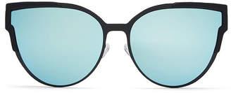Show Me Your Mumu Quay Australia ~ Game On Sunglasses ~ Blue/Black