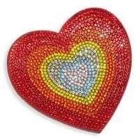 Bari Lynn Embellished Heart Emoji Hair Clip
