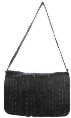 373ae81117 Fendi Selleria Leather Messenger Bag