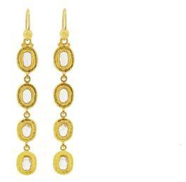 Gurhan Diamond Slice Earrings