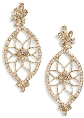 Women's Jenny Packham Glistening Shadows Dream Catcher Drop Earrings $65 thestylecure.com
