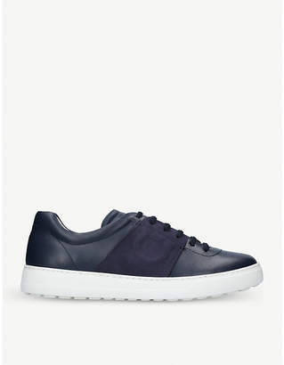 Salvatore Ferragamo Gaucho leather trainers