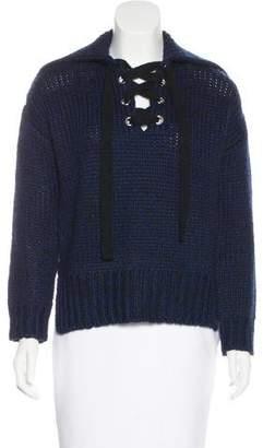 BA&SH Wool-Blend Knit Sweater w/ Tags