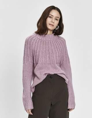 Nikita Farrow Tie Back Sweater in Lavender