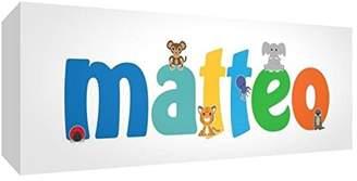 Keepsake Little Helper Baby Matteo 515BLK 15De Diamond Polished Boy/Token Personalised with a Name, Matteo