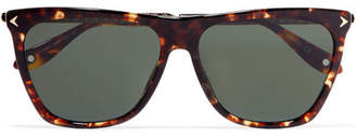 Givenchy D-frame Tortoiseshell Acetate And Gold-tone Sunglasses