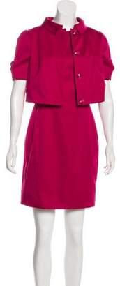 Armani Collezioni Short Sleeve Suit Set