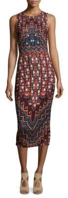 Mara Hoffman Rug Printed Midi Dress