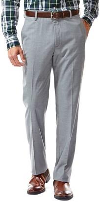 Haggar Men's Straight-Fit Flat-Front Suit Pants