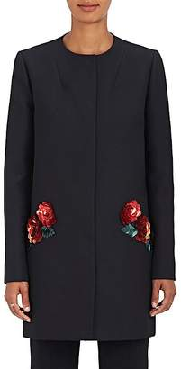 Zac Posen Women's Embellished Crepe Jacket